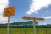 45 параллель - где-то на Южном острове