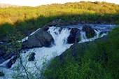 Водопад на Титовке