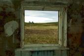 Из окна разрушенного гарнизона Скоробеевский