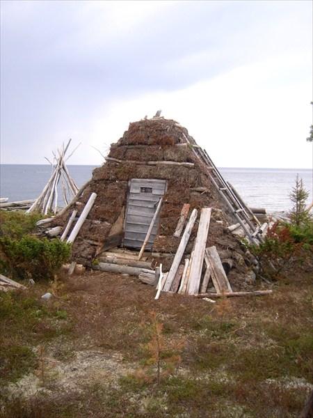 Саамское жилище. Музей Тоня Тетрино
