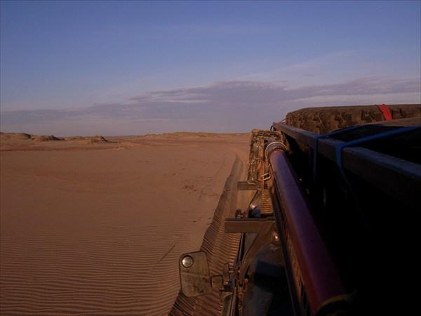Кругом настоящие дюны!