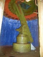 Пушка изнутри, подземная часть
