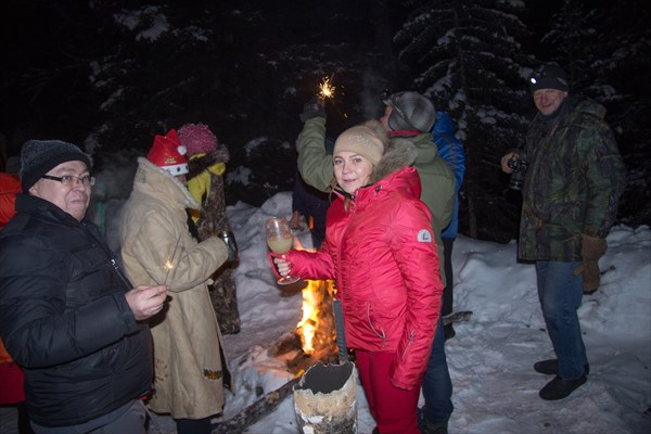 Новый год на базе Ак-Су. п. Джазатор