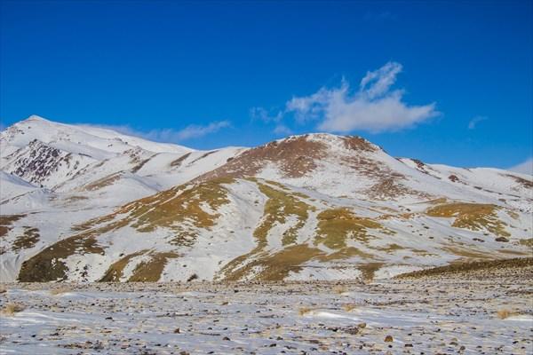 Кызыл-Чин под снегом