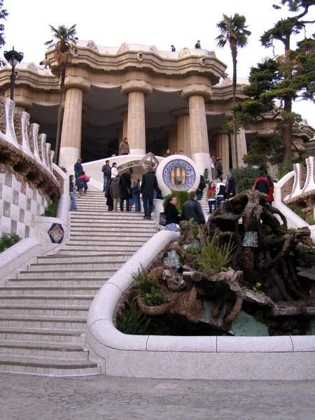 Лестница в замок Гуэль
