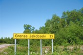 Дорога  № 886 на Гренсе Якобселв