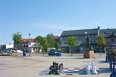 Уличные шахматы в Киркенесе