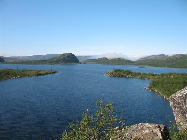 Горные озера  вдоль дороги № 886