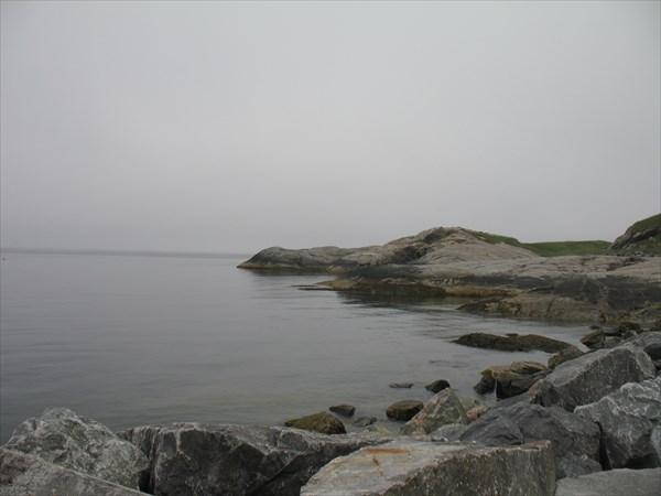 Туман на море