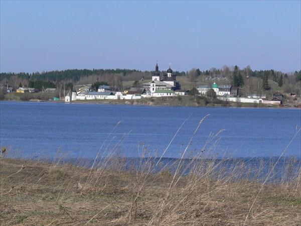 Вид на Горицкиц монастырь