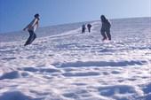 Снежник на южной стороне перевала