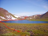 Ещё раз озеро Форельное, с другого ракурса