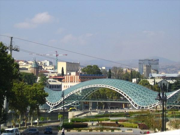 Мост Мира .Тбилиси