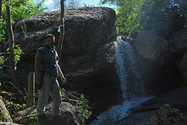Каскад водопадов.