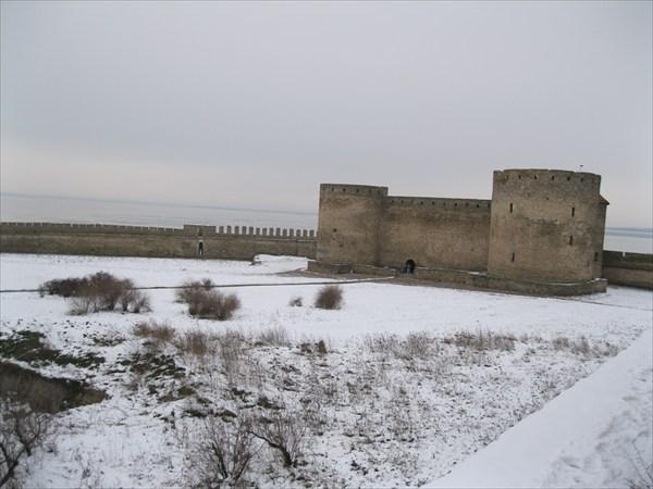 на фото: Аккермановская крепость