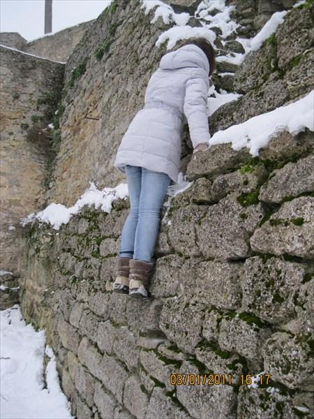 Аккермановская крепость, боюсь высоты, прыгать не решилась