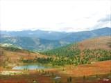 Озера под пер. Метугул-Тайга