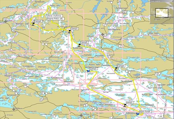 Наш маршрут, 168 км