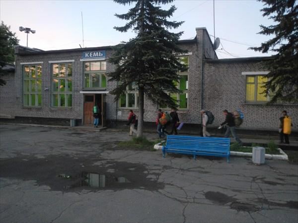 ЖД станция Кемь
