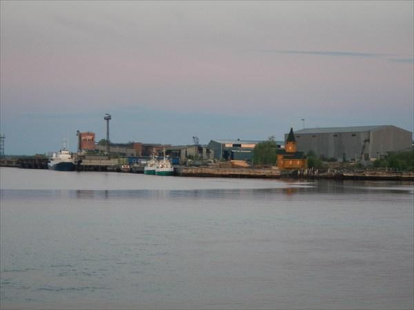 Порт в Кеми