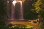 Водопад в г.Вангерей