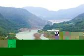 Плотина Zipingpu Dam на р. Миньцзян.
