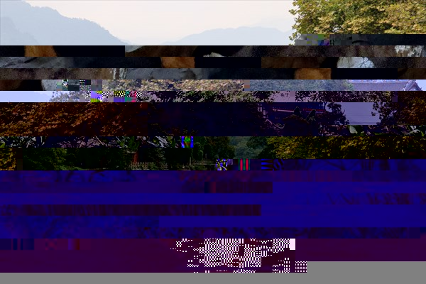Река реку Миньцзян в г. Дуцзянъянь.