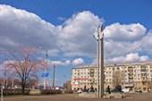 Магнитогорск. Улицы города. Солнечные часы