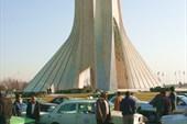 Символ Тегерана - башня Азади