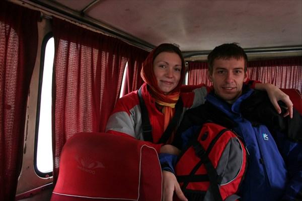В автобусе до Караджа