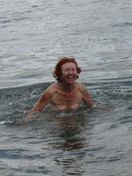 Холодная вода - это весело!