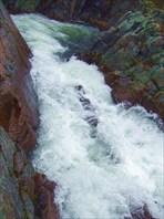 54 левая протока водопада