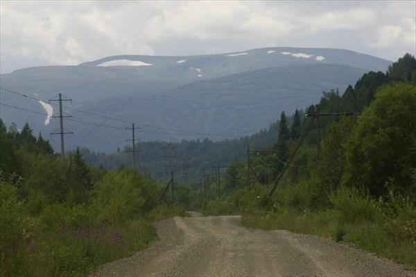 Дорога на Приисковый