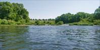 Первый сплав с сыном по реке Дон