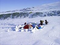 Сборка лагеря.