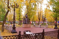 Памятник Пушкину-Памятник А.С. Пушкину