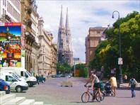Вид на собор Св. Стефана с Ратушной площади