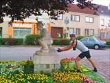 Необычный памятник в пригороде Вены