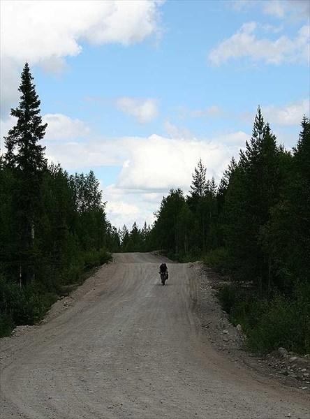 Фото. 58. Типичная карельская дорога