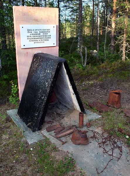 Фото. 87. Памятник посреди леса