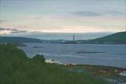 Фото. 2. Кольский залив с моста. Сзади порт Мурманска.