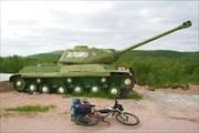 Фото. 9. ИС-2 на входе в «Долину Славы»