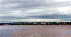 Фото. 105. Петрозаводск с другого берега залива