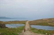 Фото. 17. Спуск от седловины перевала до р. Трезвого