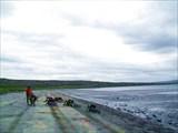 Фото. 19. Пляж на берегу Кийского рейда