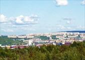 Фото. 55. Мурманск с другой стороны Кольского залива