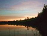Фото. 61. Оз. Койваярви после захода солнца