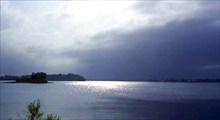Фото. 64. Оз. Сяргозеро, справа на мысе с. Сяргозеро