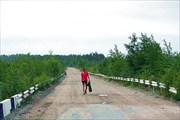 Фото. 65. Дима на мосту через Волому