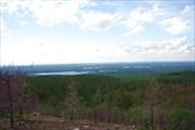 Фото. 73. Панорама в сторону оз. Воттозеро с г. Воттоваара